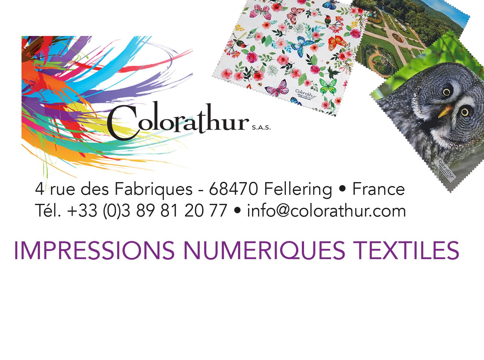 Colorathur Impressions numériques textiles